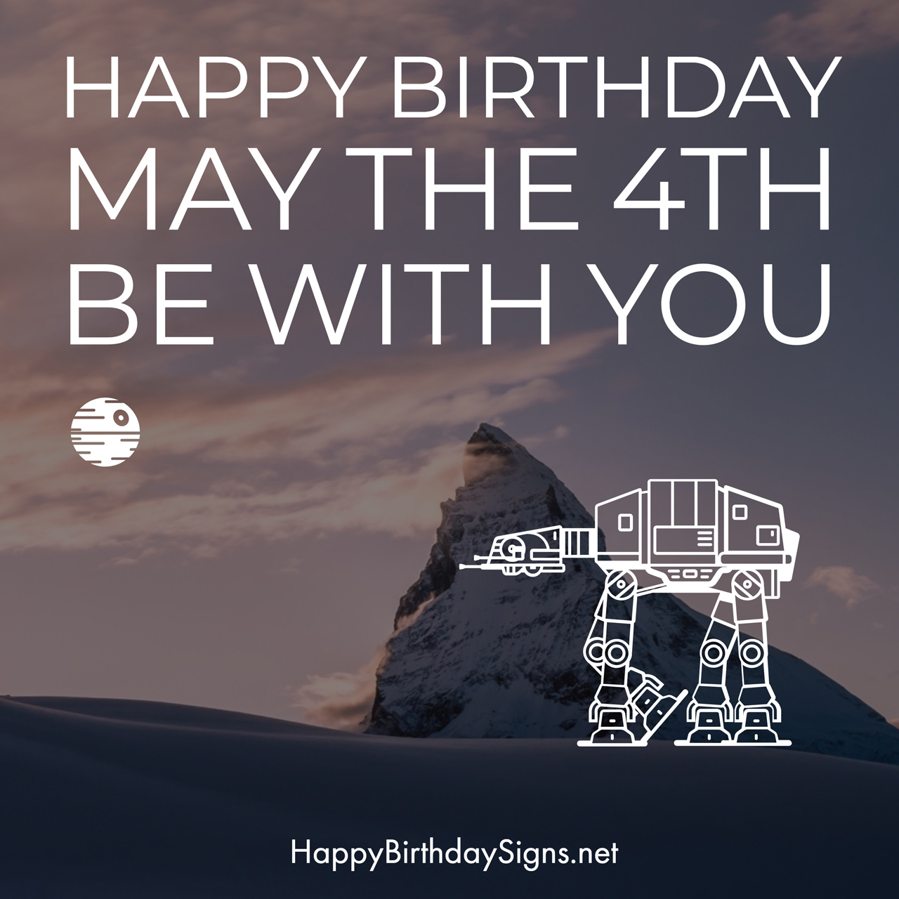 May The 4th Be With You Birthday: May The 4th Happy Birthday